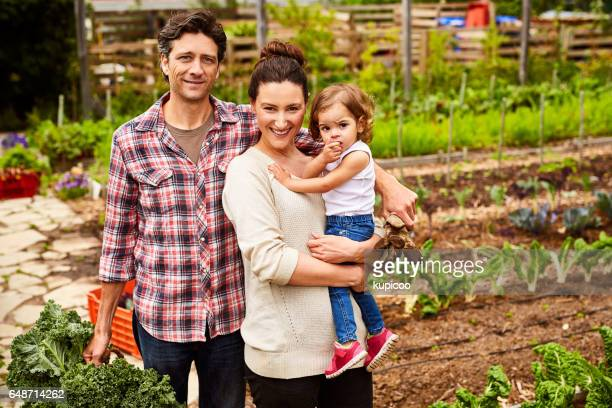 We're a family of green thumbs!