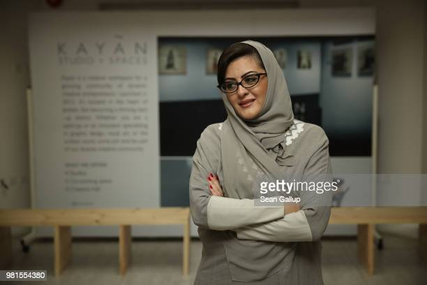 'We're a nation in transit' said Sofana Dahlan who was among the first women to receive recognition of a law degree in Saudi Arabia is a divorced...