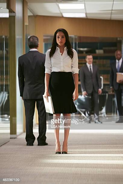 SUITS 'We're Done' Episode 407 Pictured Meghan Markle as Rachel Zane