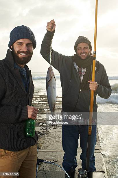 We're eating fish tonight!