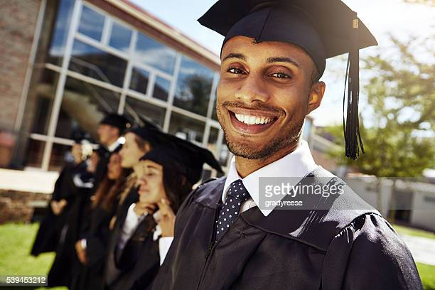 we're educated and ready to go! - graduation stock pictures, royalty-free photos & images