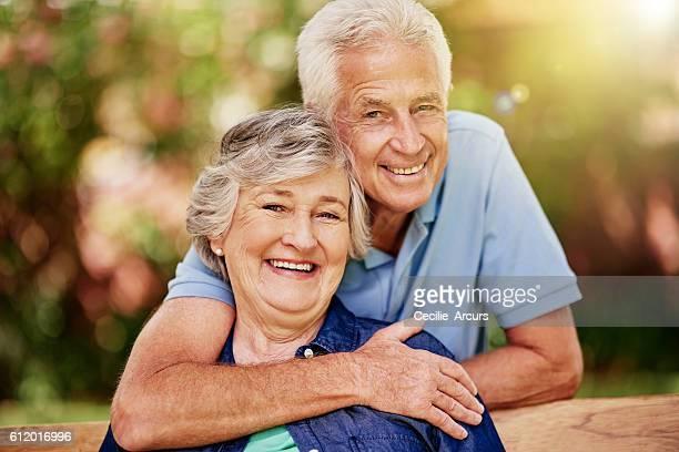 Nous sommes en profitant de notre retraite ans