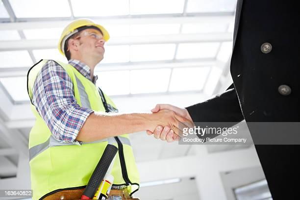 Wir tun, hervorragende Zusammenarbeit
