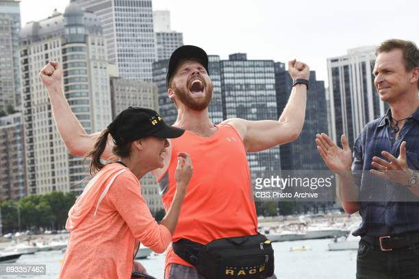 'We're Going to Victory Lane 'After 9 countries 17 cities and 36000 miles Brooke and Scott are crowned the winners and awarded the 1 million dollar...