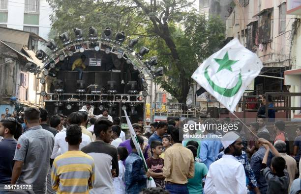DJ were included during Eid MiladUnNabi the birth anniversary of Prophet Muhammad the founder of Islam also believed to be a messenger of God by...