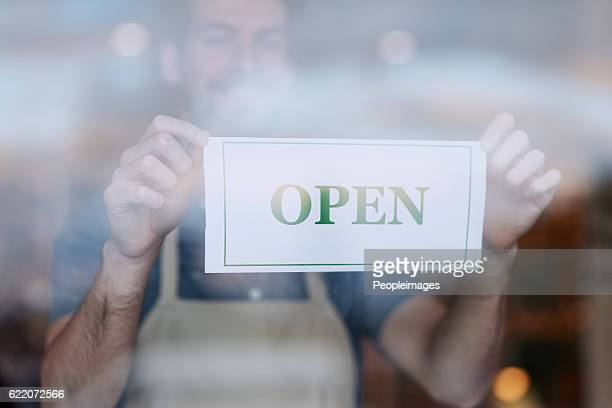 we're now open for business - opening event stock pictures, royalty-free photos & images