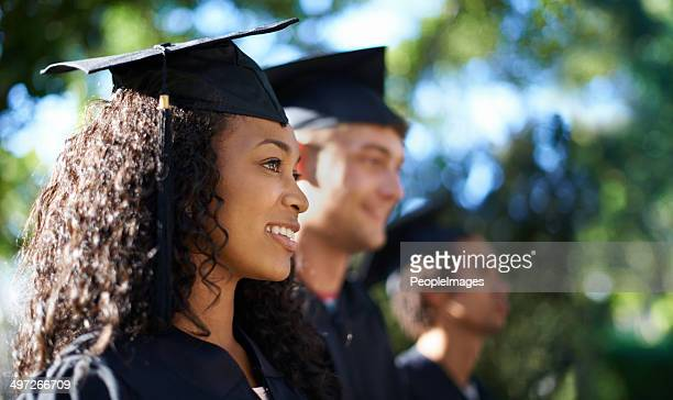 we're ready to take on the real world - graduation stock pictures, royalty-free photos & images