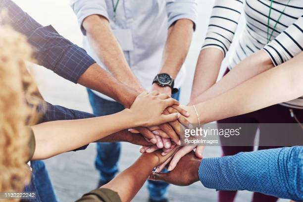we're stronger when we unite together - teamwork stock pictures, royalty-free photos & images