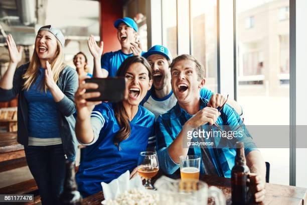 we're winning! - match sport stock photos and pictures