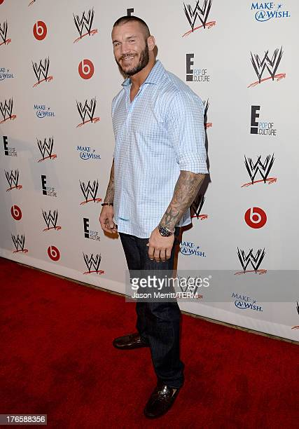 WWE werestler Randy Orton attends WWE E Entertainment's 'SuperStars For Hope' at the Beverly Hills Hotel on August 15 2013 in Beverly Hills California