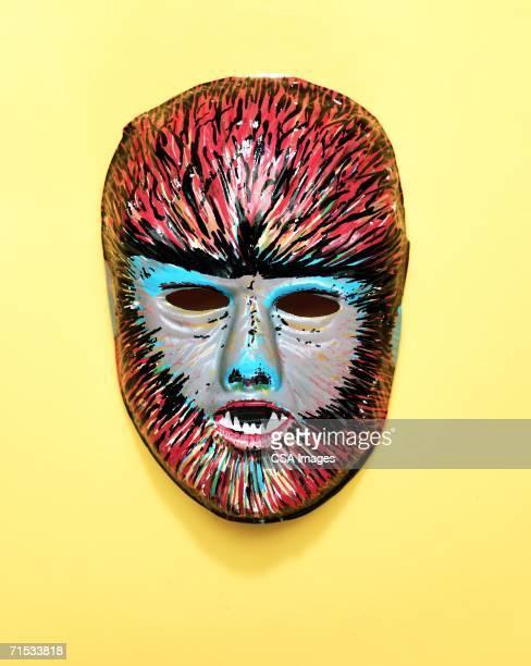 werewolf mask - lobisomem imagens e fotografias de stock