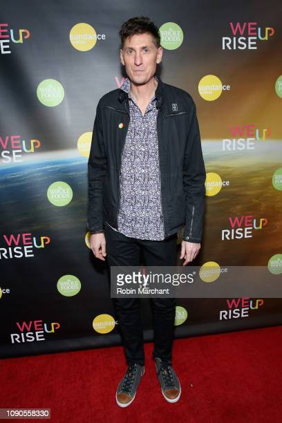 WeRiseUP Director Michael Shaun Conaway attends the WeRiseUP Launch Event With Kevin Bacon during the 2019 Sundance Film Festival at TAO Nightclub on...