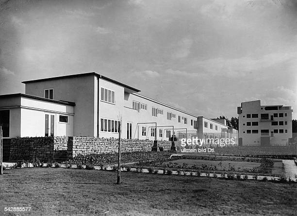 Werkbundsiedlung in Breslau GrüneicheArchitekt Hans Scharoun 1932