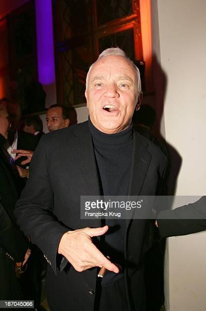 Werner Baldessarini Bei Der Verleihung Der Gq Men Of The Year 2004 Awards Im Kaisersaal Der Residenz In München Am 111104