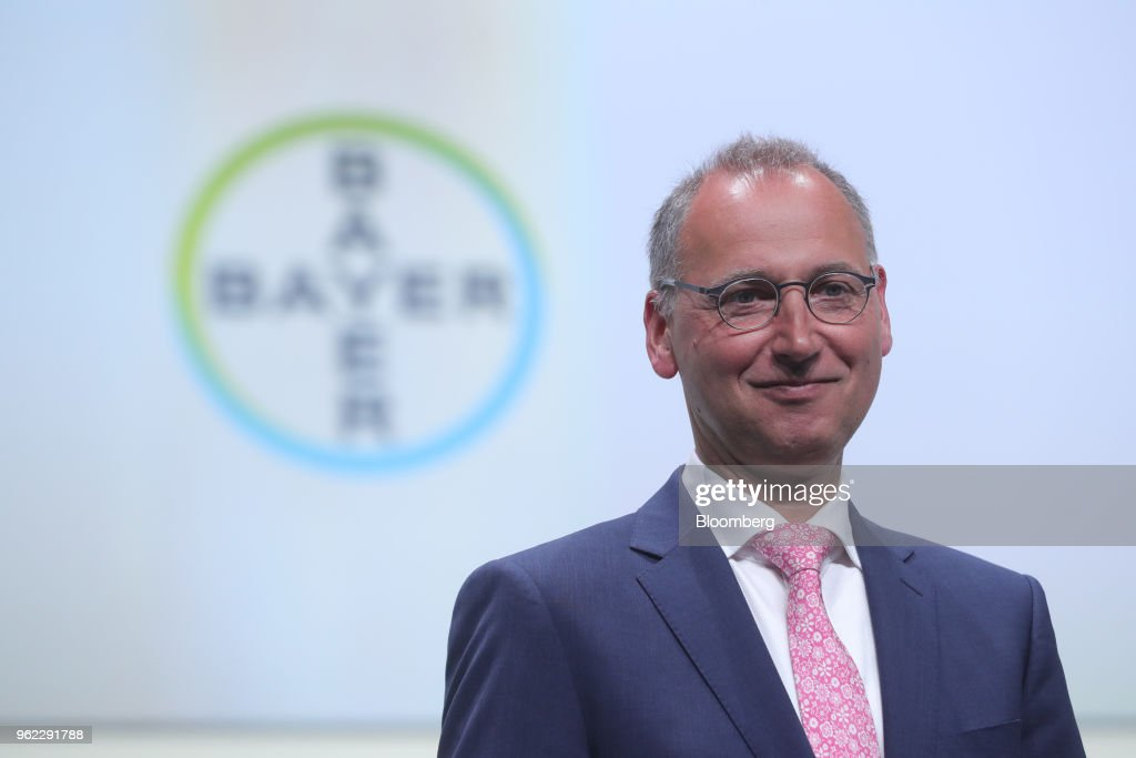 Bayer AG Chief Executive Officer Werner Baumann Holds Annual General Meeting