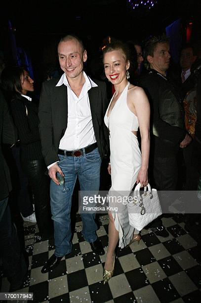 "Werner Daehn and girlfriend Sonja Kerskes at The After Show Party in Kit Kat Club after the premiere of ""Basic Instinct 2"" in Berlin 220306."
