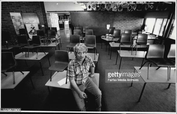 Werner Diesel who is head of the School Security CommissionWerner Diesel in one of the classrooms at the Mathew Pierce Public School at Baulkham...