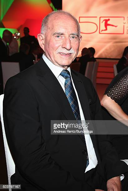 Werner Hansch attends the '50 Years of Bundesliga Gala' at Estrel Hotel on August 6 2013 in Berlin Germany