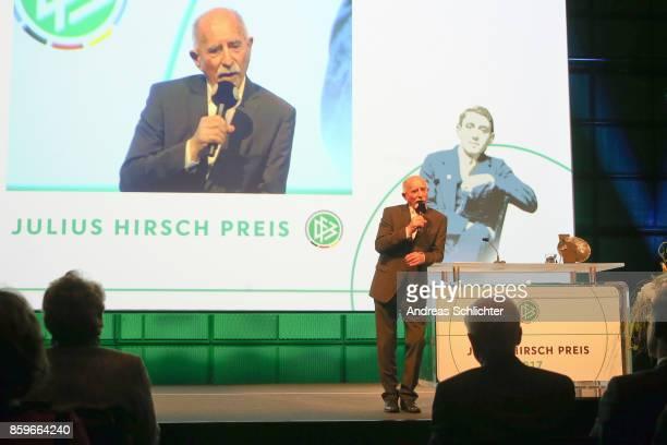 Werner Hansch during the JuliusHirschPreis Awarding Ceremony on October 7 2017 in Karlsruhe Germany