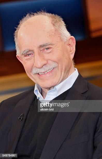 Werner Hansch in der TalkShow 'AnneWill'