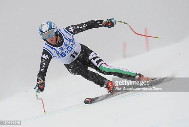 Werner Heel of Italy during the Audi FIS Alpine Ski World Cup Men's Downhill on November 30 2013 in Lake Louise Canada