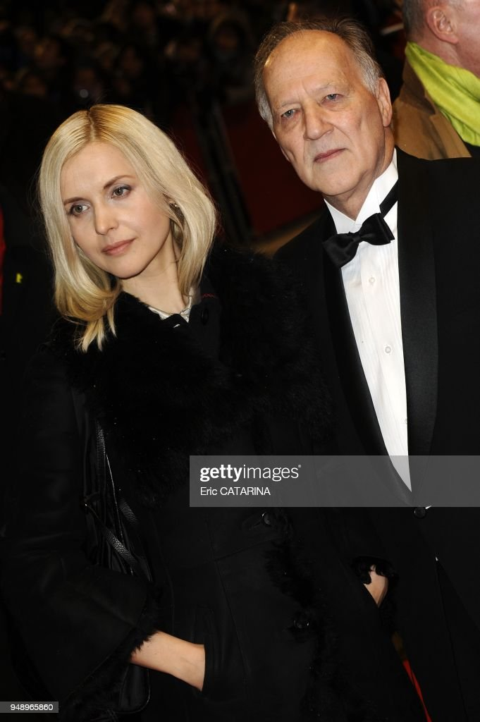Werner Herzog and wife. News Photo - Getty Images