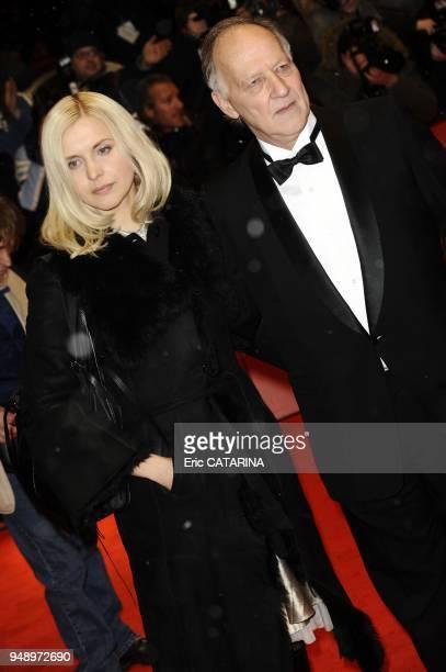 Werner Herzog and wife