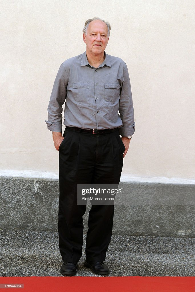 Werner Herzog attends photocall during the 66th Locarno Film Festival on August 15, 2013 in Locarno, Switzerland.