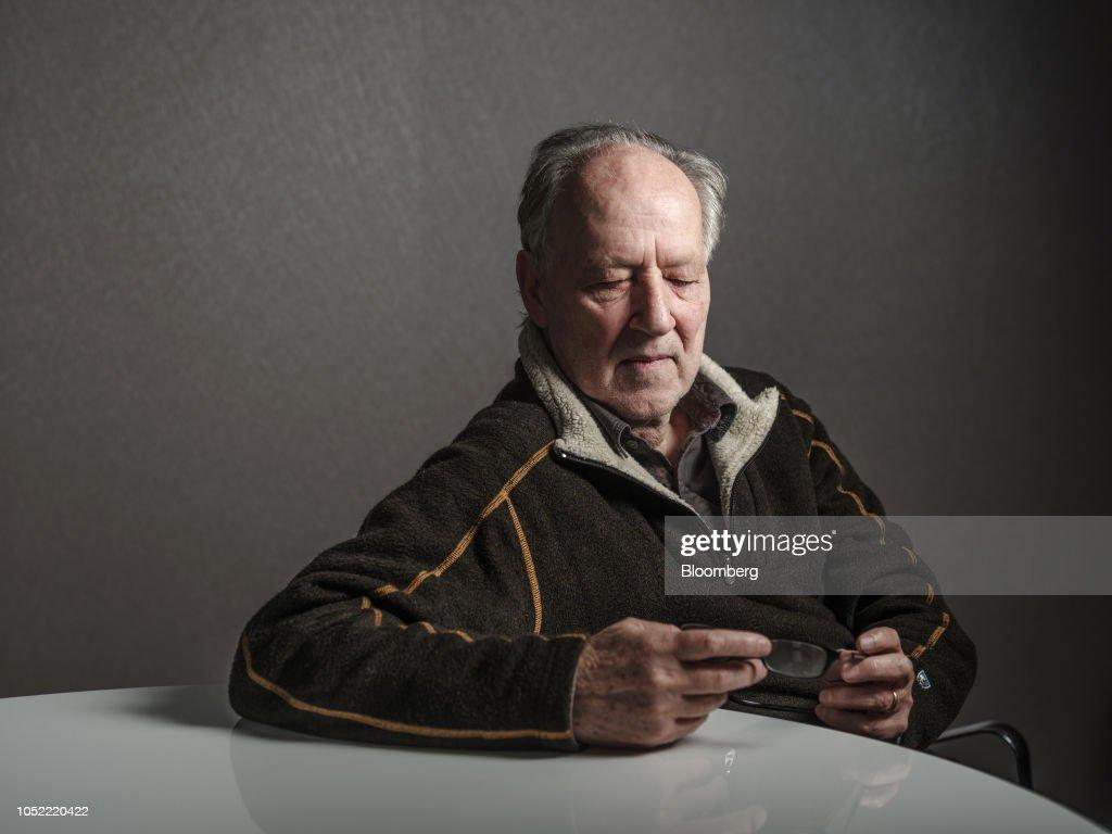 Filmmaker Werner Herzog Portraits : News Photo