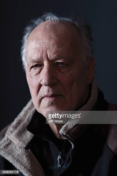 Werner Herzog poses for a portrait at the 2016 Sundance Film Festival on January 24 2016 in Park City Utah