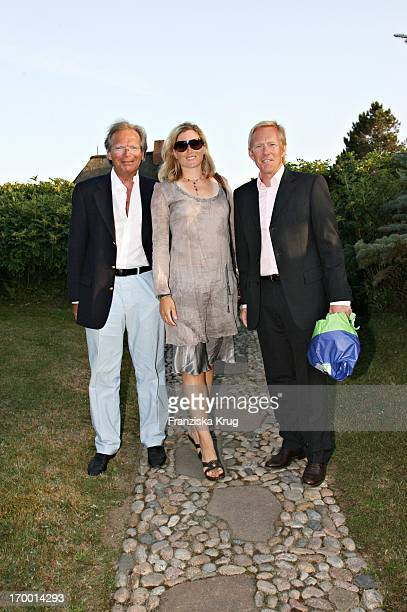 Werner Klatten Johannes B Kerner and wife Britta Becker Kerner at The Traditional Food From Cancer Economia Manfred_Baumann boss in the house...