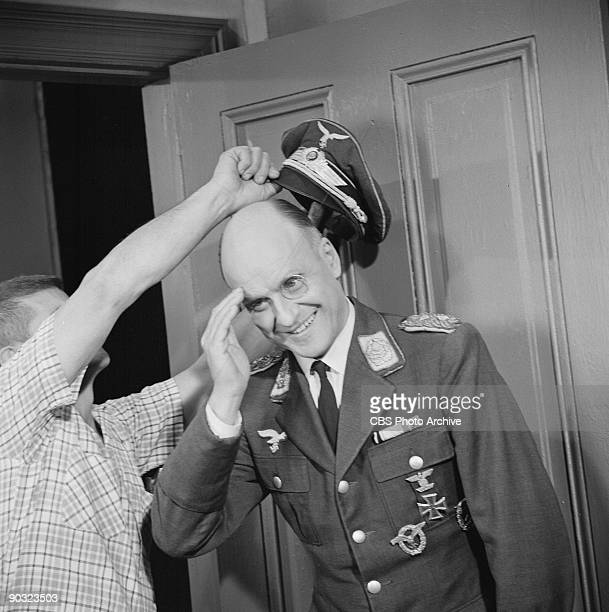 HEROES Werner Klemperer as Col Wilhelm Klink in The Assasin an episode from the CBS television comedy series 'Hogan's Heroes' February 16 1966