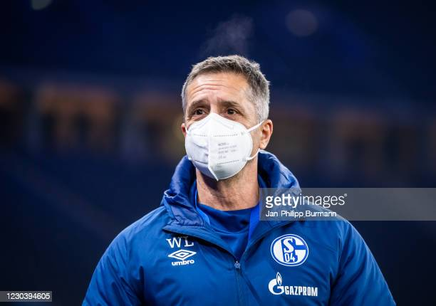 Werner Leuthard of FC Schalke 04 before the Bundesliga match between Hertha BSC and FC Schalke 04 at Olympiastadion on January 2, 2020 in Berlin,...