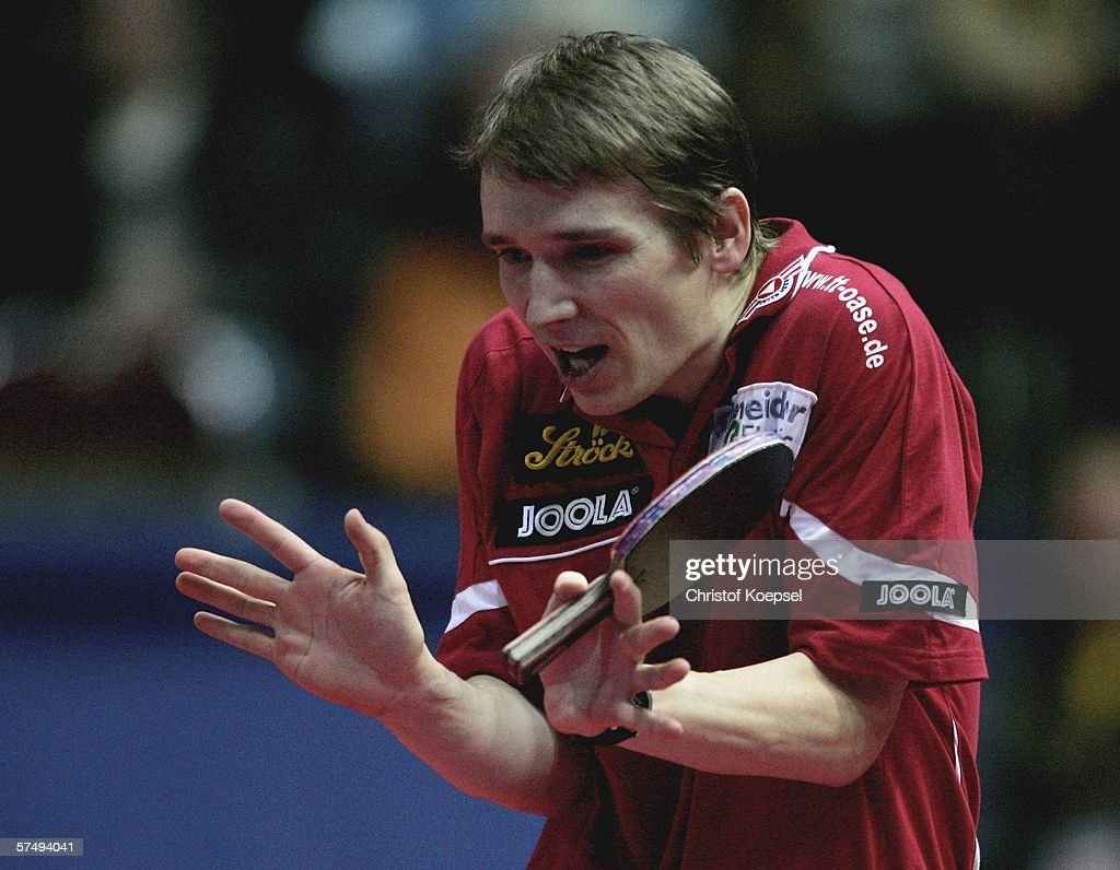2006 Liebherr World Team Table Tennis Championships Day 6 : News Photo
