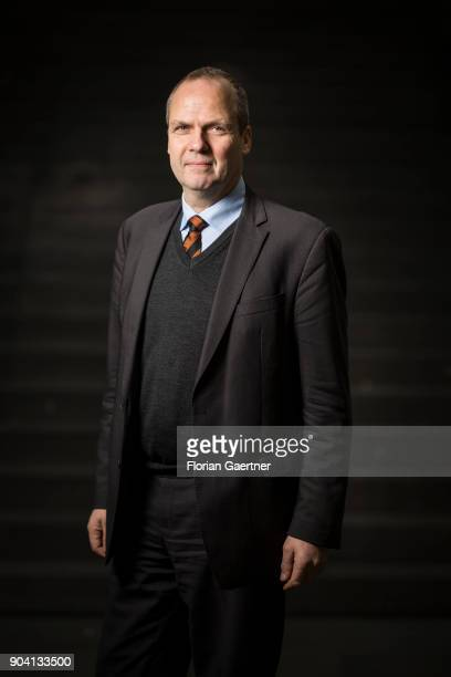 Werner Schwarz Vice President of the The German Farmers Association poses for a picture on January 12 2018 in Berlin Germany