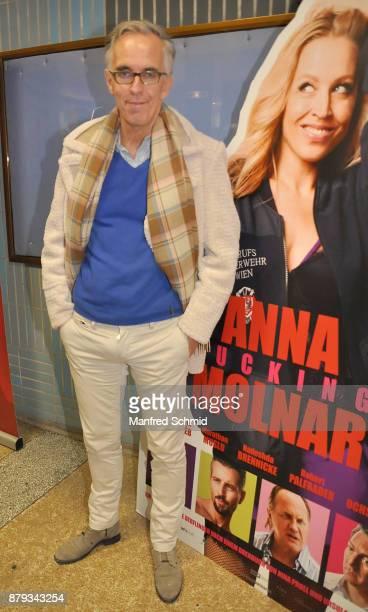 Werner Sobotka attends the 'Anna Fucking Molnar' Premiere at Gartenbau Kino on November 22 2017 in Vienna Austria