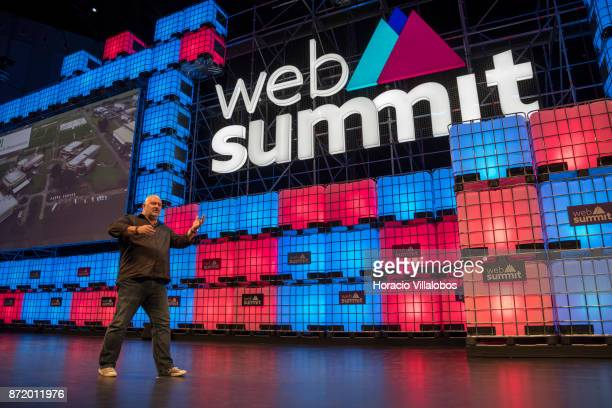 Werner Vogels CTO Amazoncom delivers remarks on 'Amazon wants to talk to you' during the final day of Web Summit in Altice Arena on November 09 2017...