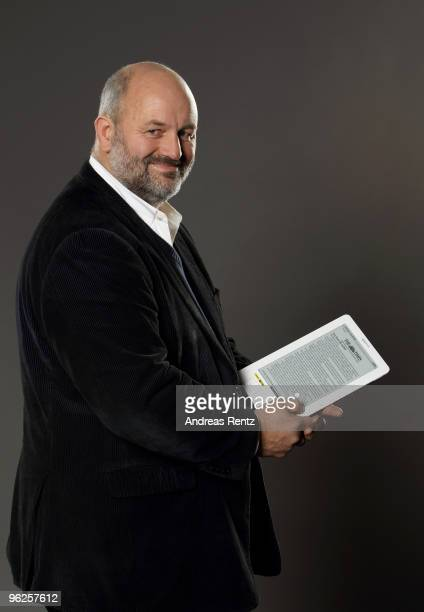 Werner Vogels of Amazon poses during a portrait session at the Digital Life Design conference at HVB Forum on January 26 2010 in Munich Germany DLD...
