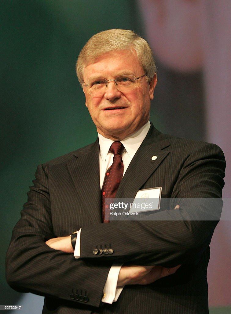 Werner Wenning, CEO of German chemical industry giant ...