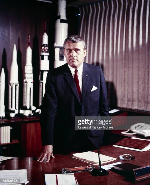 Wernher Magnus Maximilian Freiherr von Braun was a German later American aerospace engineer and space architect credited with inventing the V2 rocket...