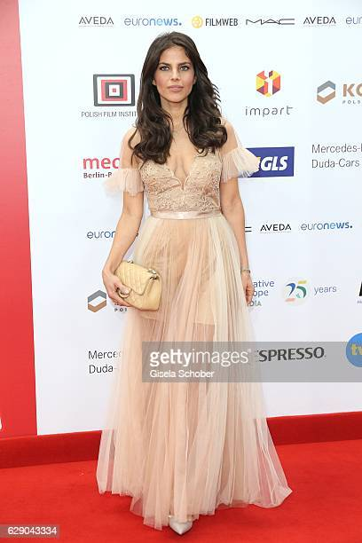 Weronika Rosati during the 29th European Film Awards at National Forum of Music on December 10 2016 in Wroclaw Poland