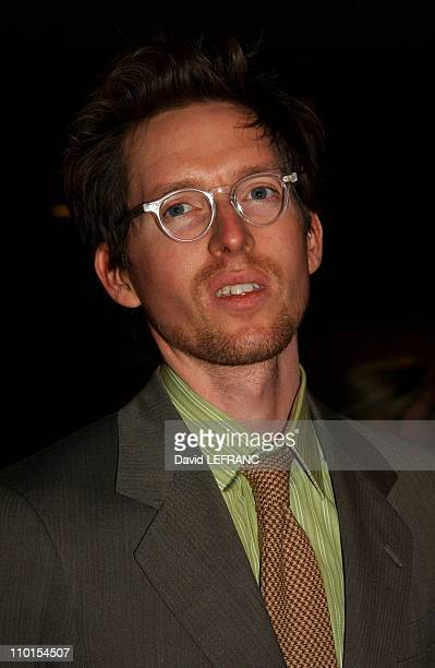 Wes Anderson at the Museum of Modern Art for 'A Work in Progress An evening with David Russell' in New York United States on April 10 2002 A work in...