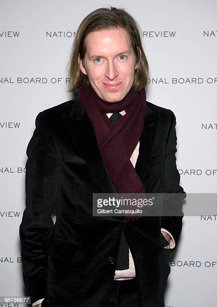 Wes Anderson attends the 2010 National Board of Review Awards Gala at Cipriani 42nd Street on January 12 2010 in New York City