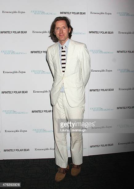 Wes Anderson attends the 'Infinitely Polar Bear' New York premiere at the Sunshine Landmark on June 8 2015 in New York City