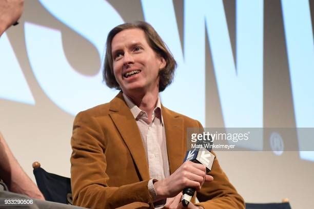 Wes Anderson attends the Isle of Dogs Premiere 2018 SXSW Conference and Festivals at Paramount Theatre on March 17 2018 in Austin Texas
