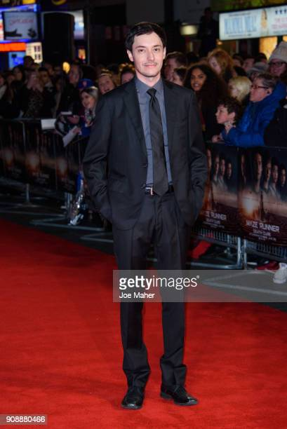 Wes Ball attends the UK fan screening of 'Maze Runner The Death Cure' at Vue West End on January 22 2018 in London England