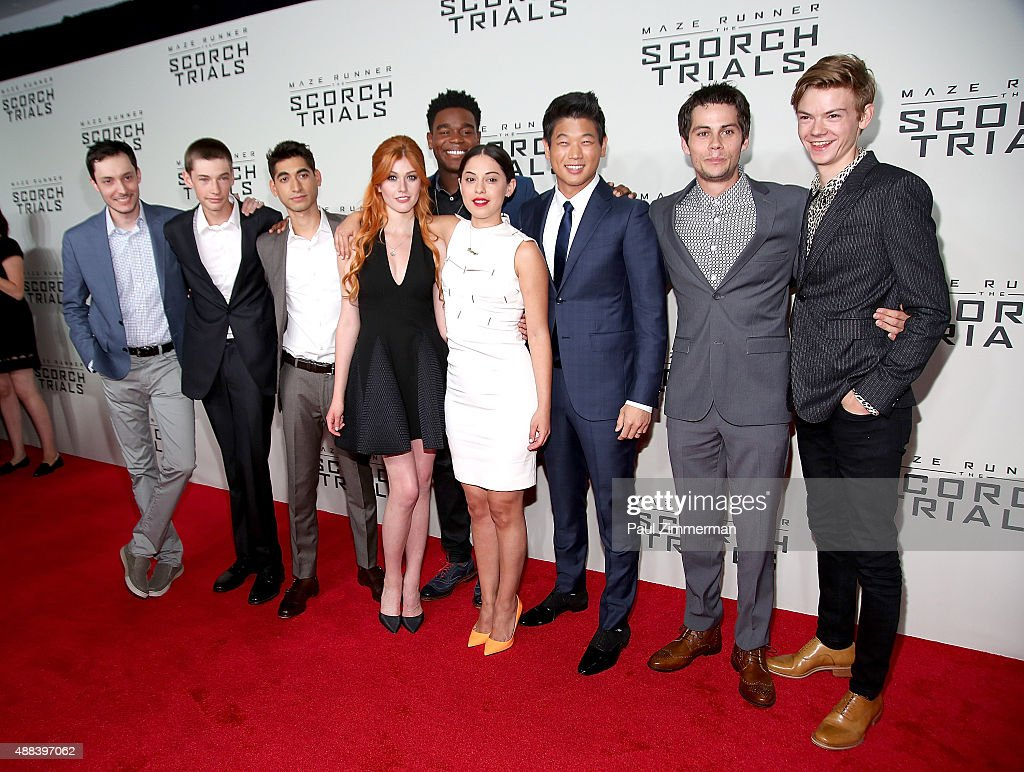 """Maze Runner: The Scorch Trials"" New York Premiere : News Photo"