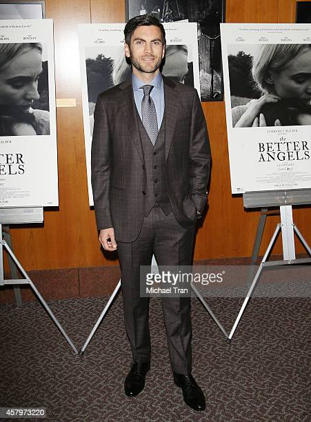 Wes Bentley arrives at the Los Angeles Premiere of 'The Better Angels' held at DGA Theater on October 27 2014 in Los Angeles California