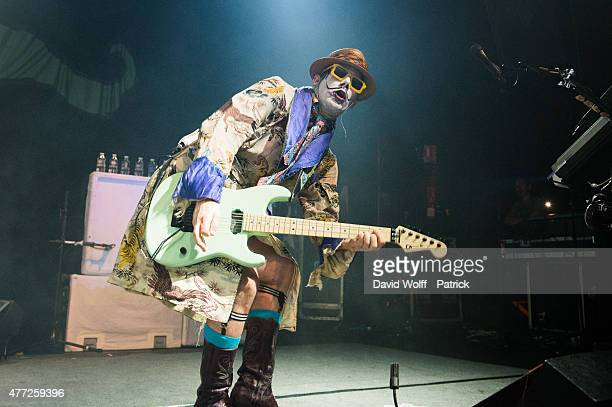 Wes Borland from Limp Bizkit performs at Le Bataclan on June 15 2015 in Paris France