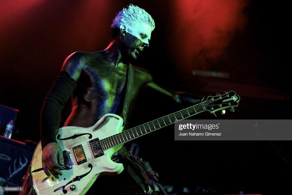 Limp Bizkit Performs in Concert in Madrid